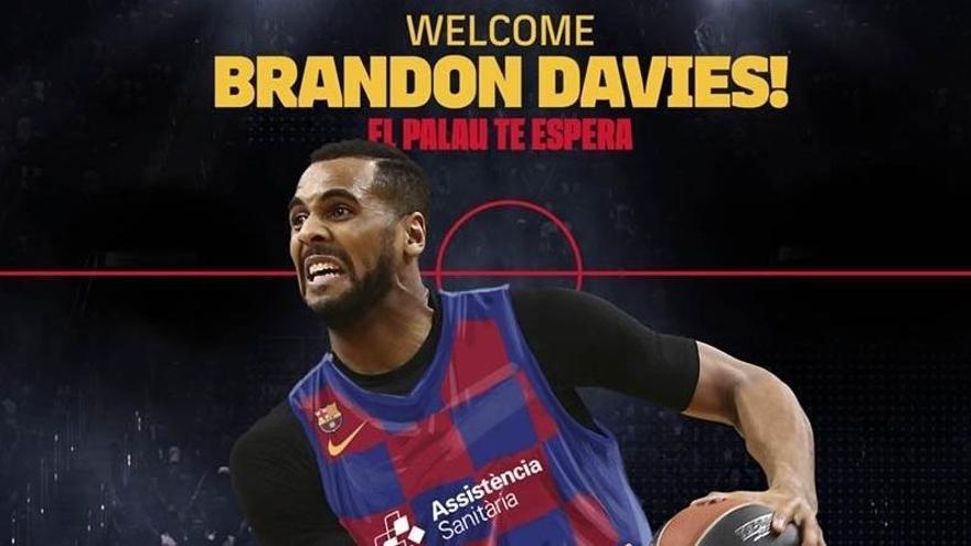 Brandon Davis, segon fitxatge per al nou projecte del Barça