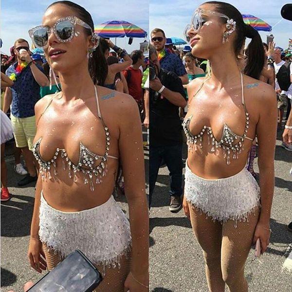 La espectacular novia de Neymar triunfa en el Carn