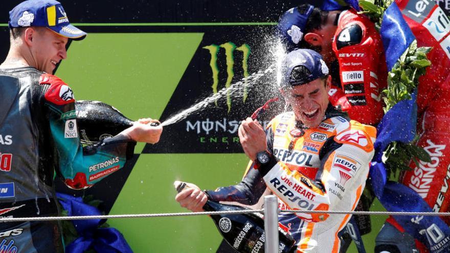 Quarta victòria de Márquez, que augmenta el seu avantatge en el mundial