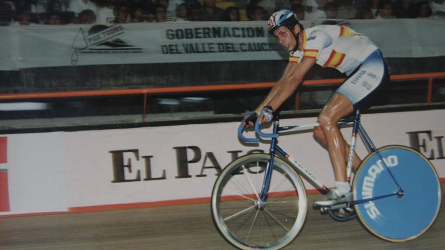 Un exciclista olímpico asturiano, acusado de dopaje por un médico español