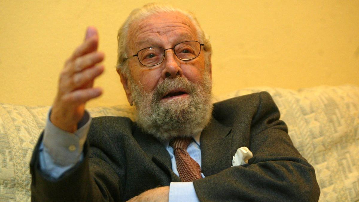 El cineasta valenciano Luis García Berlanga.