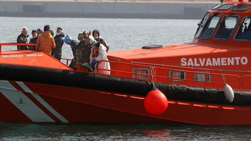 Las muertes de migrantes en la costa mediterránea quintuplican a las del Estrecho
