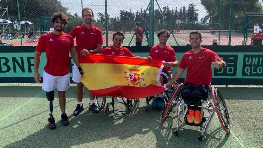 Cisco García estará en la final de la Copa del Mundo de tenis en silla