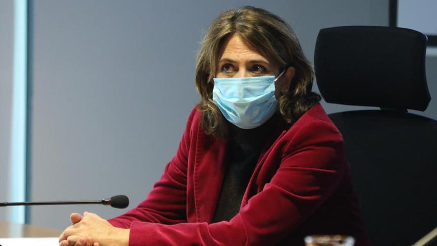 La fiscal general Dolores Delgado, positivo por Covid-19