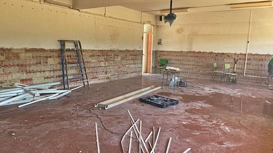 Cerdà inicia la renovación de su colegio para mejorar la enseñanza rural