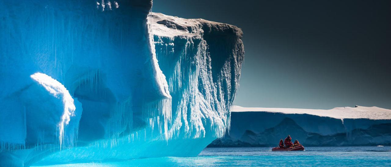 La mayor capa de hielo de la Tierra, amenazada por un océano más cálido