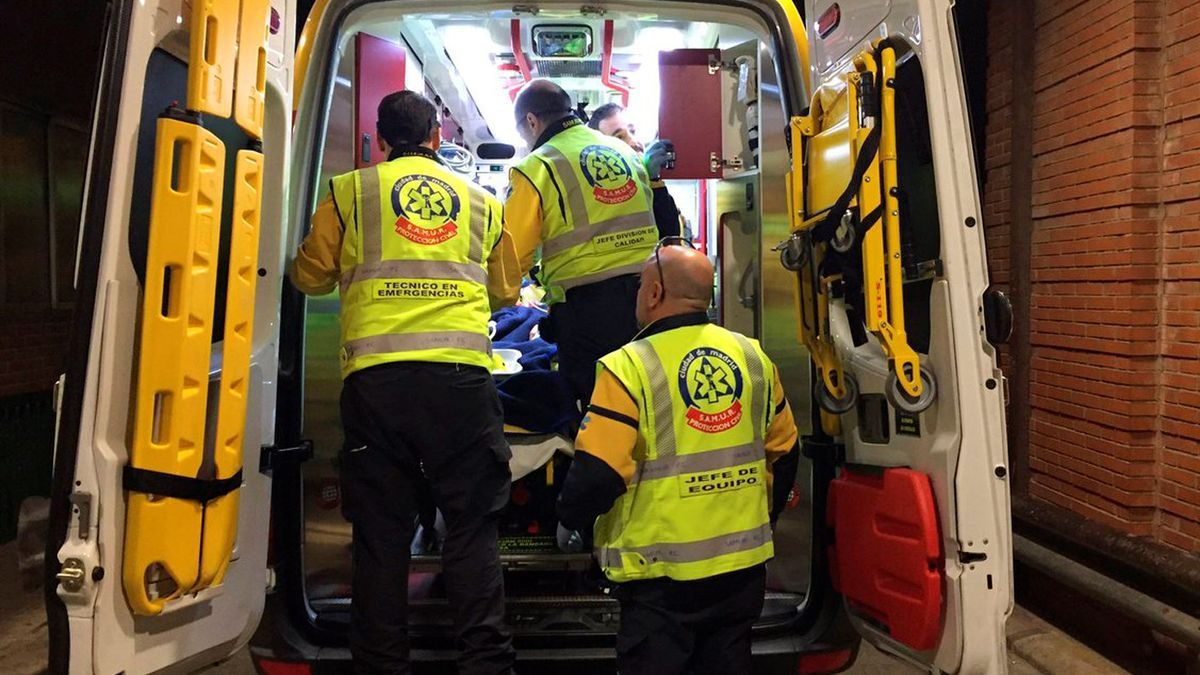 Una imagen de archivo de una ambulancia.