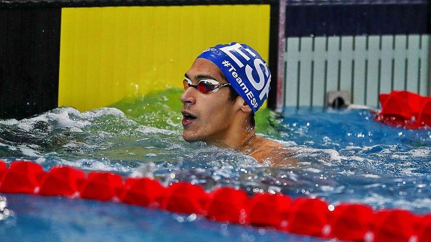 Hugo González y Aina Hierro quedan fuera de las semifinales en el Europeo de natación