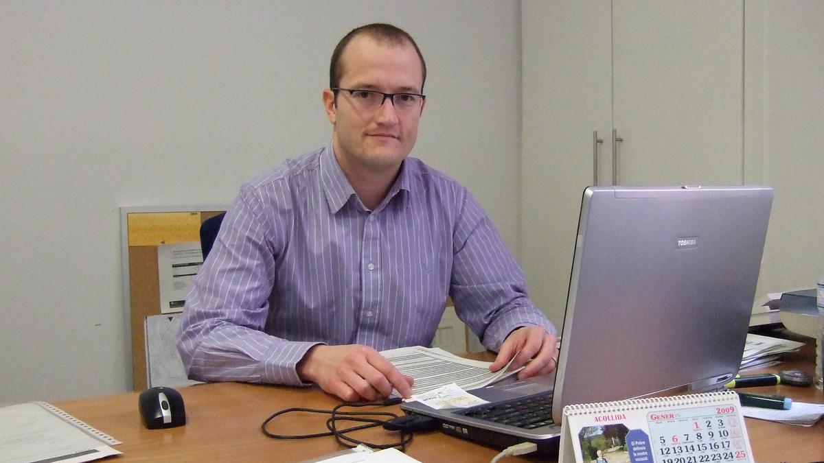 Francesc Carné torna al càrrec que tenia el 2008