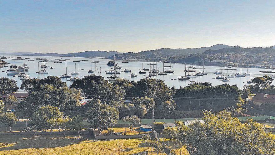 El BNG exige que la Xunta ponga coto a los yates en la ría de Aldán