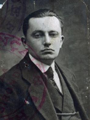 Retrato del fotógrafo Charles Alberty 1922-1925