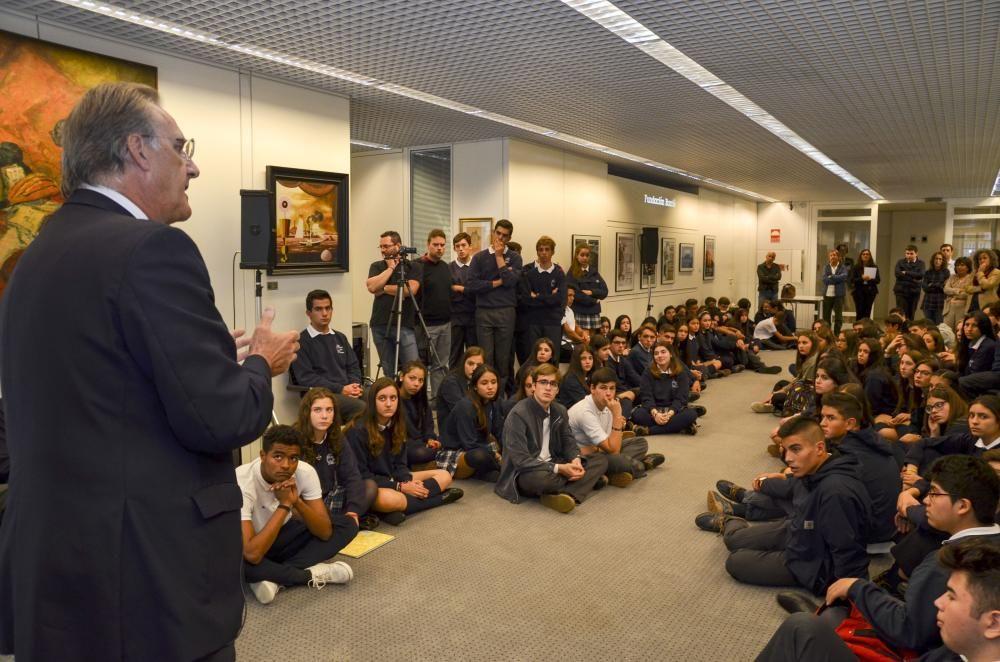 La Barrié celebra el 'Día de las Fundaciones' con 200 niños