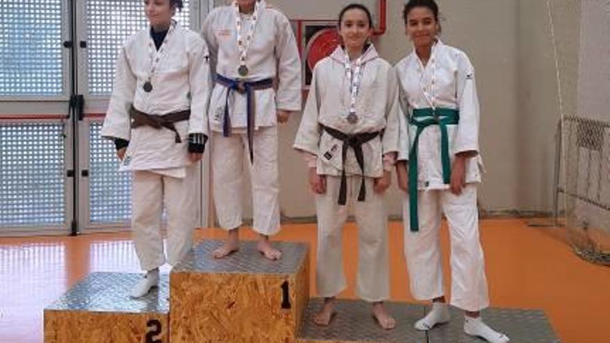 Rocío García obtiene el bronce nacional en judo