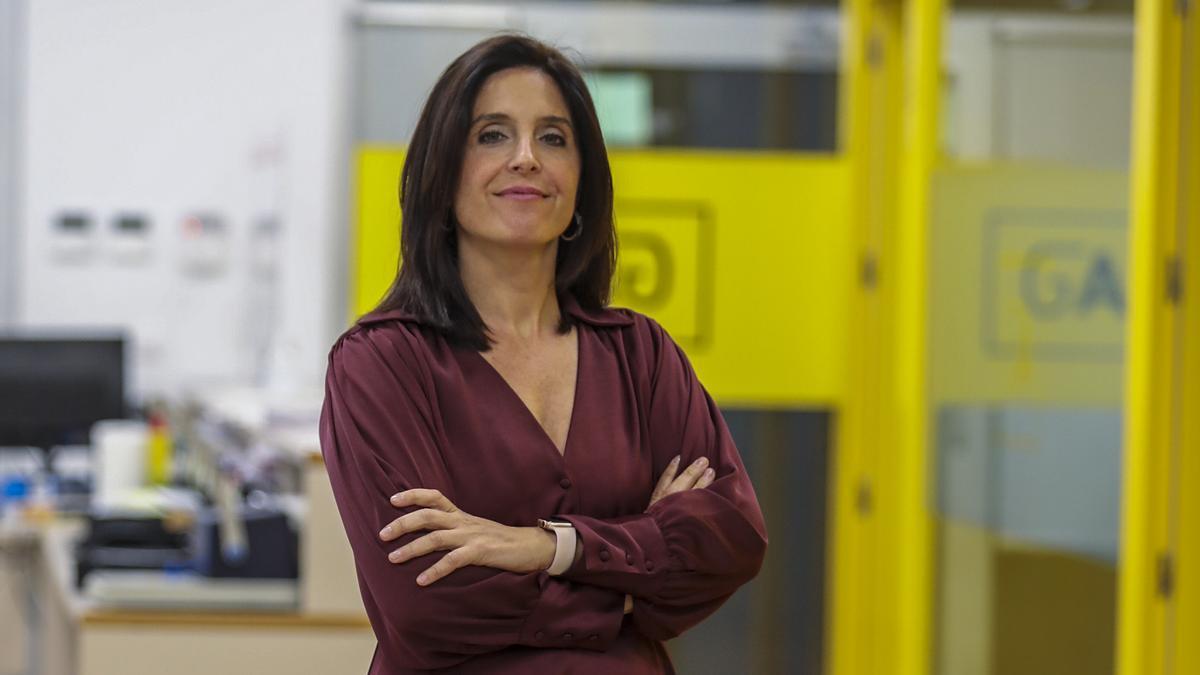 Ana Maruenda defiende el papel de la mujer en el mundo empresarial.