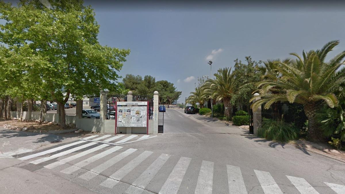 Ciudad Deportiva Paterna, centro de vacunación