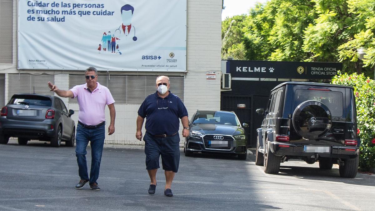 Ortiz y Ramírez, en septiembre en el Rico Pérez.