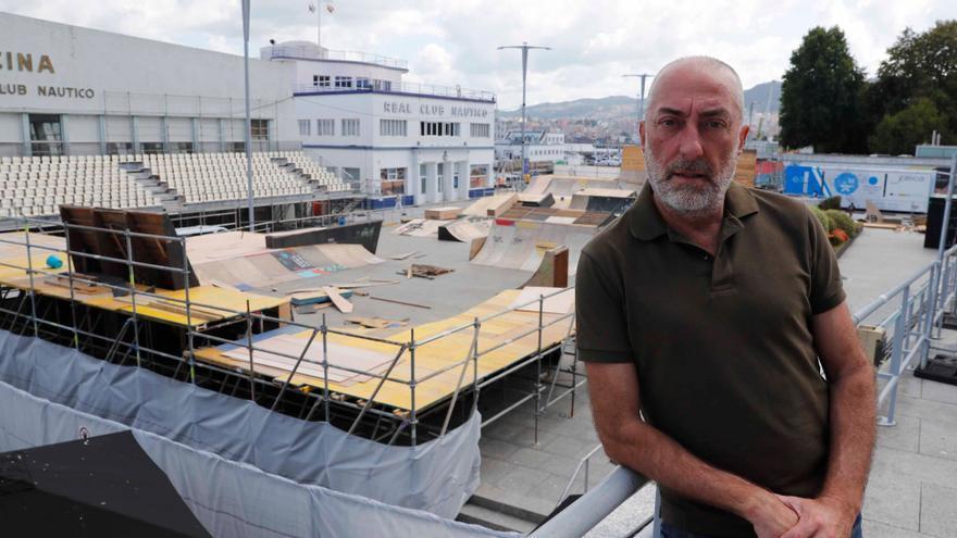 """""""El recinto se nos queda pequeño; queremos llevar pruebas a otros puntos de Vigo"""""""