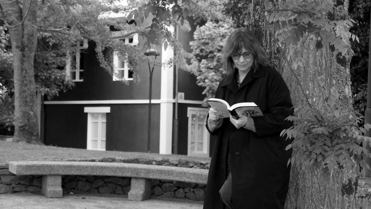 Cecilia Monllor, en un rincón de Oleiros.