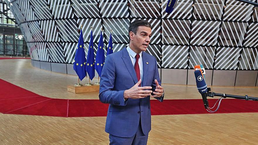Sánchez demana més ambició per frenar l'alça de l'energia  i que s'afronti amb «urgència»