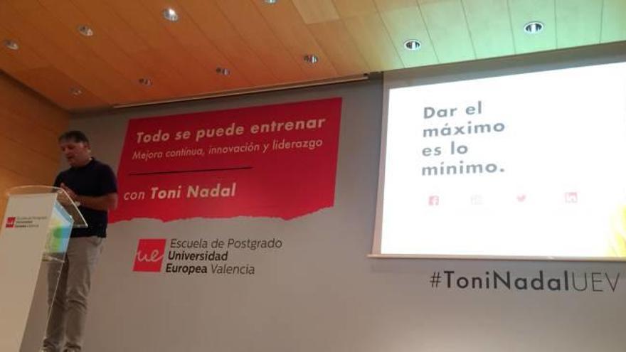 """Toni Nadal: """"No hay relevo generacional porque los tenistas jóvenes no tienen el compromiso de antes"""""""