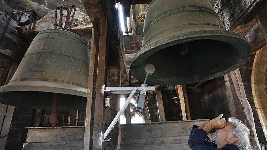 Las campanas de la Catedral repicarán a mediodía para honrar a Santiago