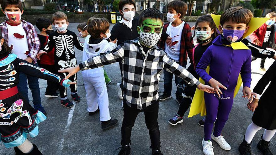 Un Samaín pandémico en los colegios