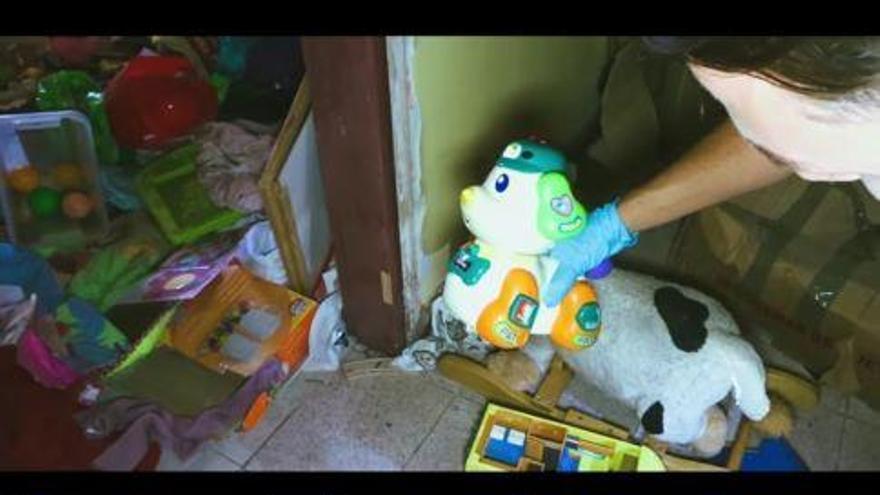 Un vídeo viral denuncia el abandono de la escuela infantil de La Herradura