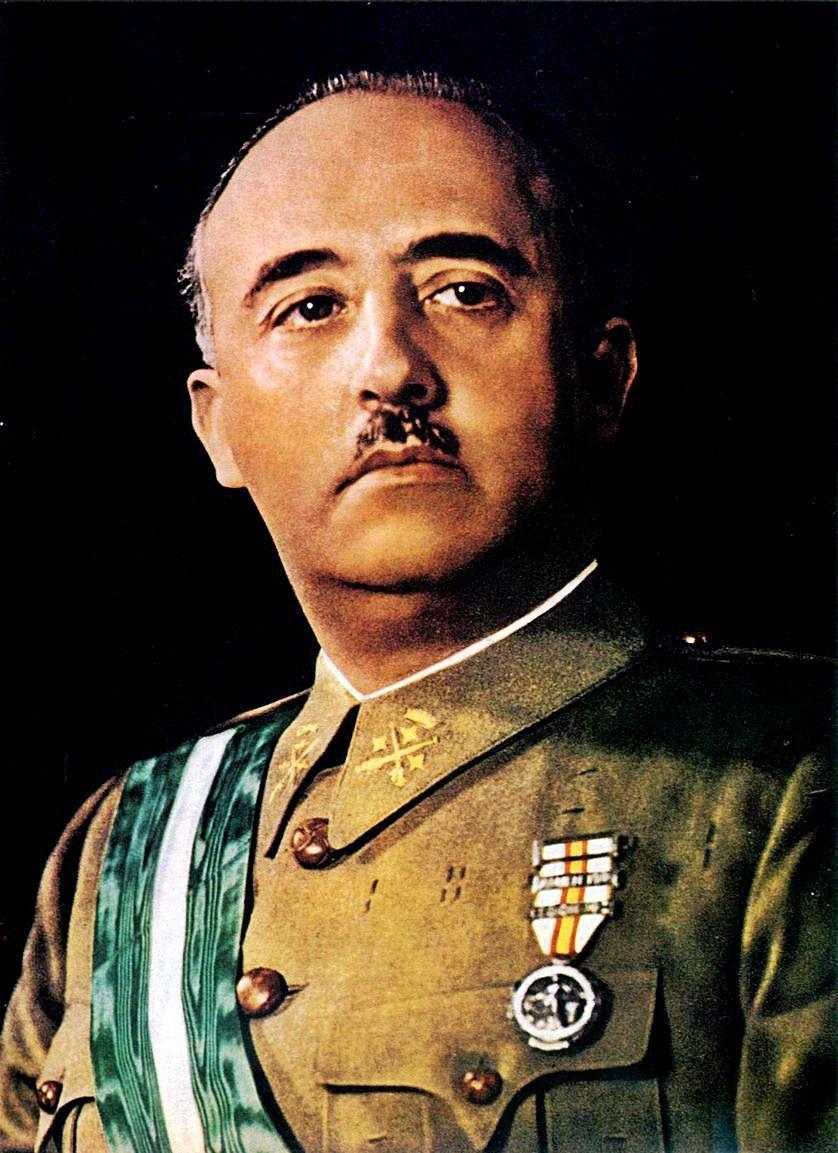 Retrato de Francisco Franco