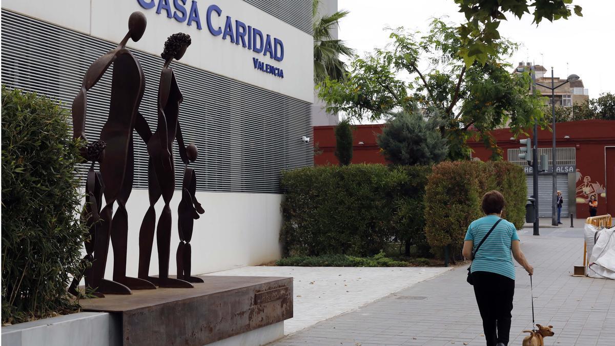 Sede de Casa Caridad en Benicalap