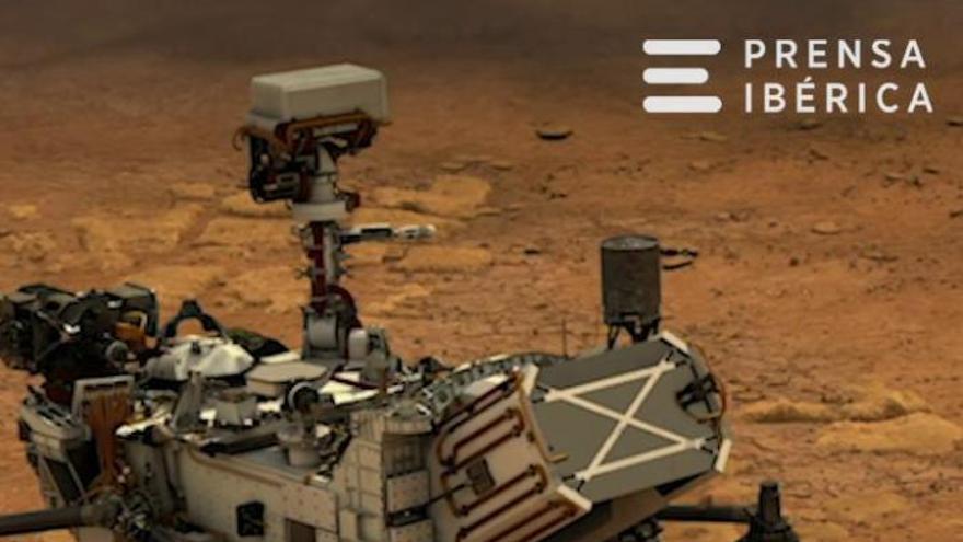 El rover de la Nasa aterra a Mart i envia les primeres fotografies del planeta