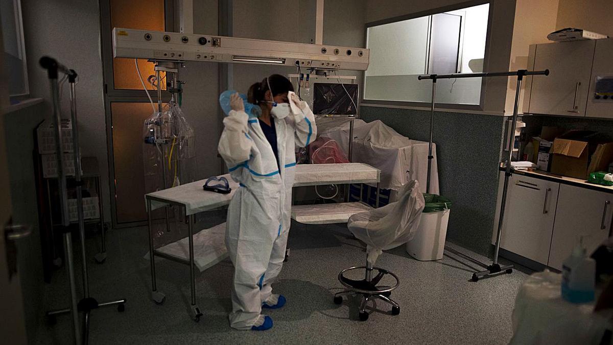 Murcia, Andalucía, Comunidad Valenciana y Canarias están a la cola en servicios sanitarios. | IVÁN J. URQUÍZAR