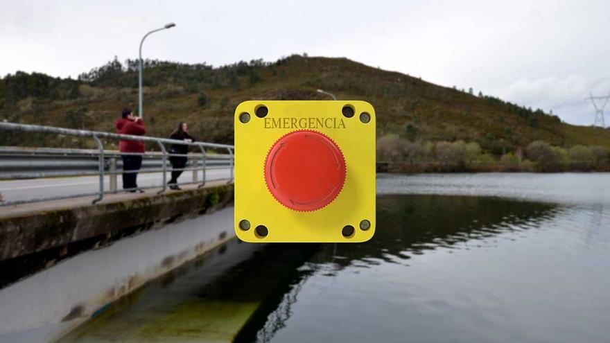 El mapa de las presas gallegas de mayor riesgo y sin de plan de emergencia