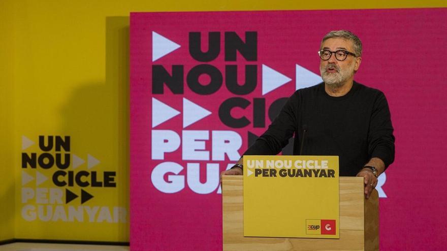 """La CUP entrarà al Govern """"si hi ha un gir a l'esquerra i per l'autodeterminació"""""""