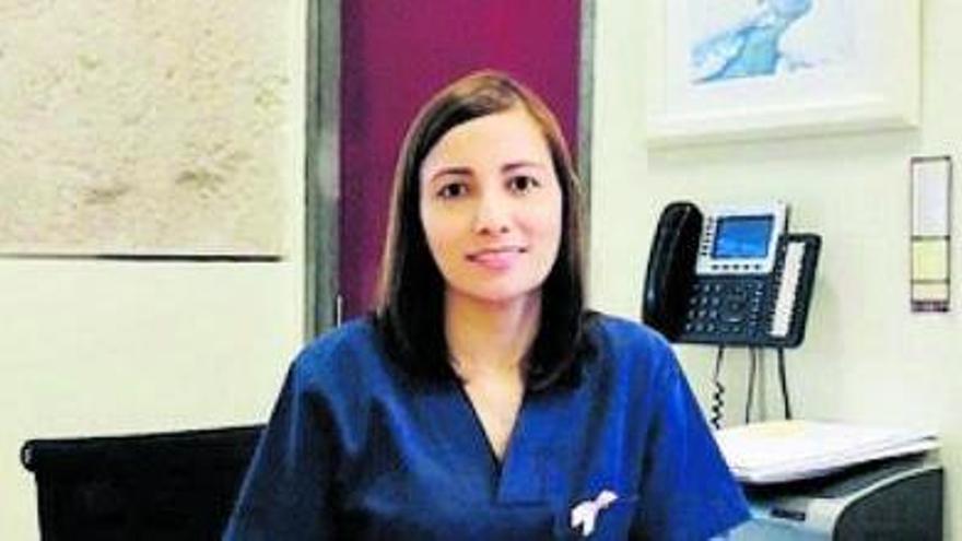 Zandra Mileny Soto, ginecóloga especializada en Patología Mamaria de la Unidad de la Mujer Recoletas. | Cedida a L. O. Z.