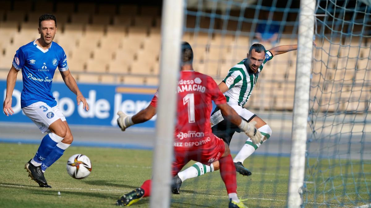 Las imágenes del Xerez Deportivo-Córdoba CF