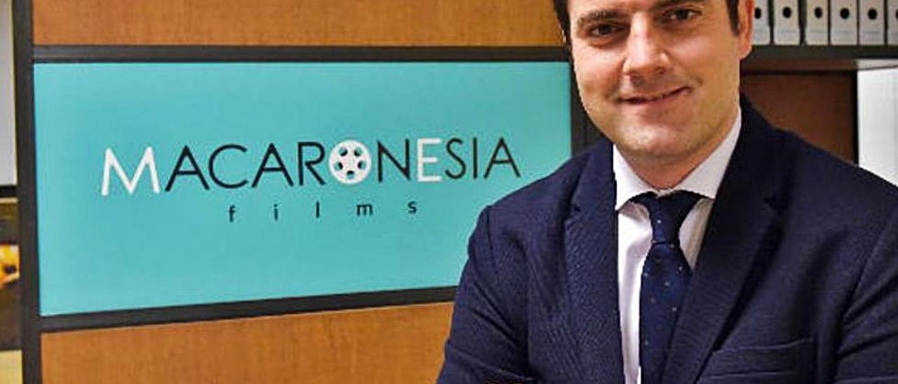Jaime Romero Cerdá, consejero delegado de Macaronesia Films.