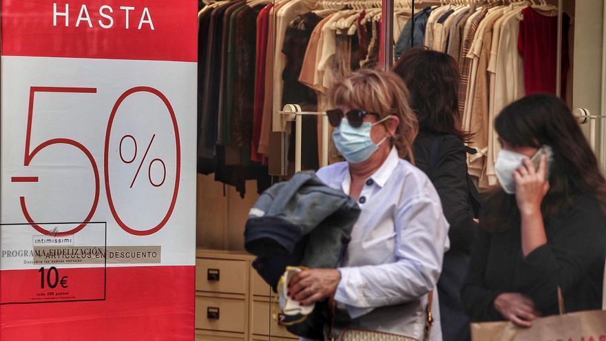 El comercio canario registra la mayor caída de las ventas y el empleo del país