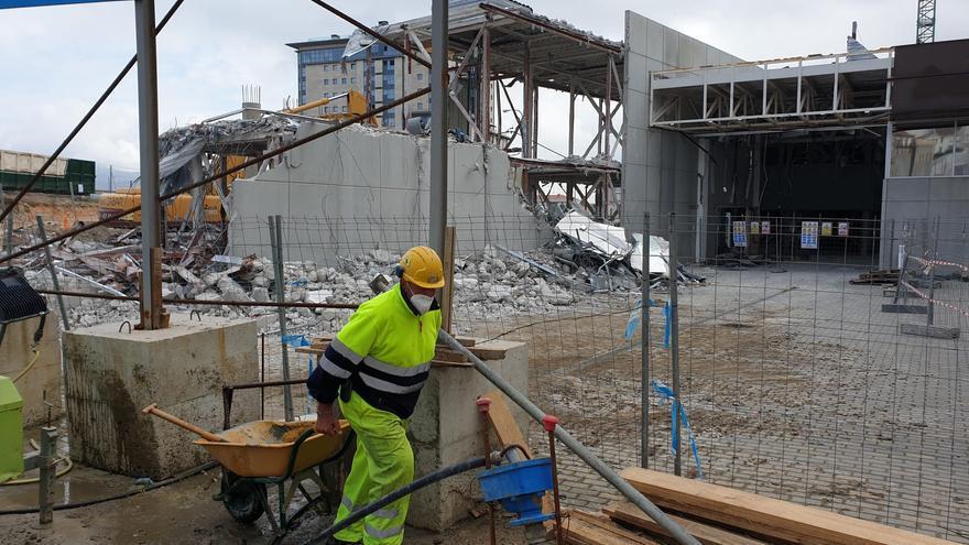 Una visita a las obras de la futura estación de buses de Vigo
