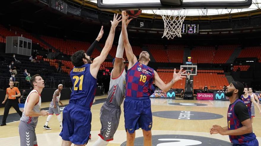 El Barça, primer finalista de la Lliga Endesa