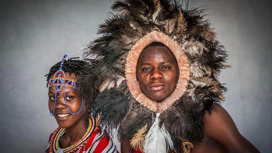 Se inauguran las nueve exposiciones que propone el Festival de Folklore de Ingenio