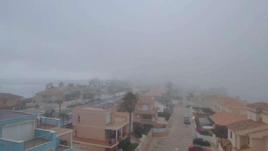 La previsión del tiempo en Murcia para mañana: brumas y mínimas en descenso