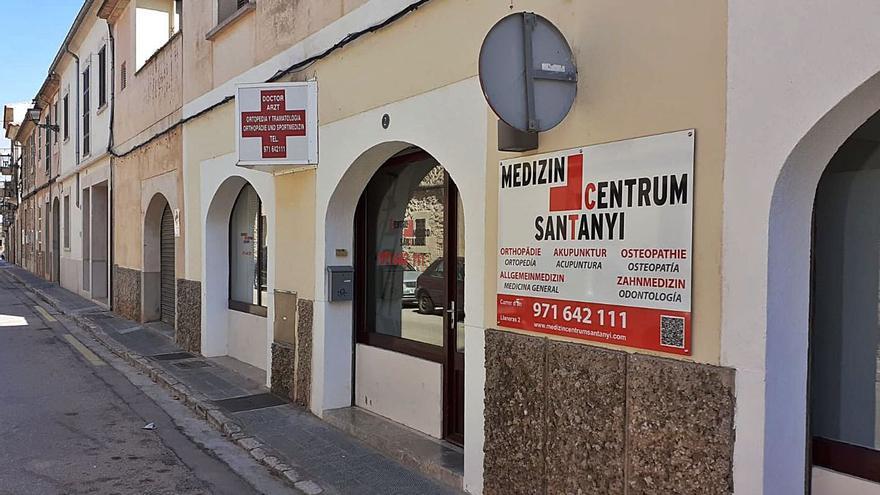 La clínica de Santanyí continúa  ofreciendo PCR en 20 minutos