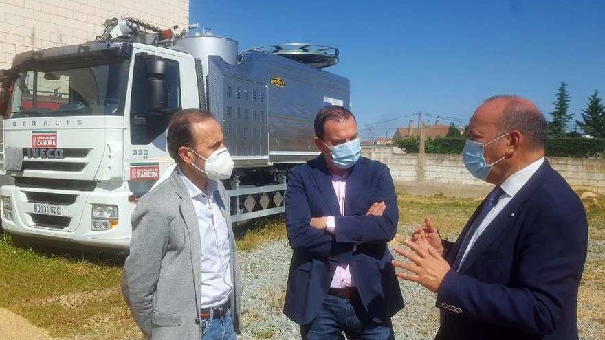Un nuevo parque de bomberos provincial atenderá a la zona del alfoz de la capital