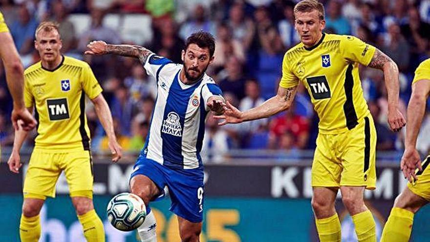 L'Espanyol retorna a Europa golejant l'Stjaran islandès (4-0)
