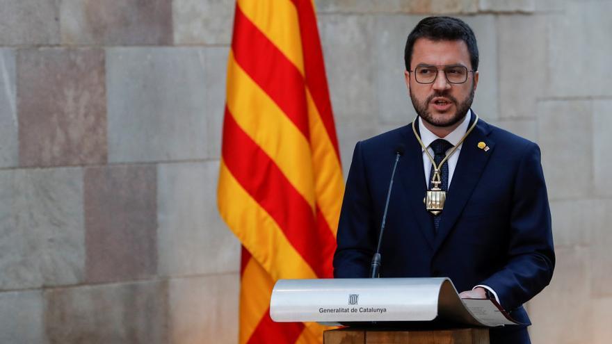 Aragonés toma posesión de su cargo como president de la Generalitat