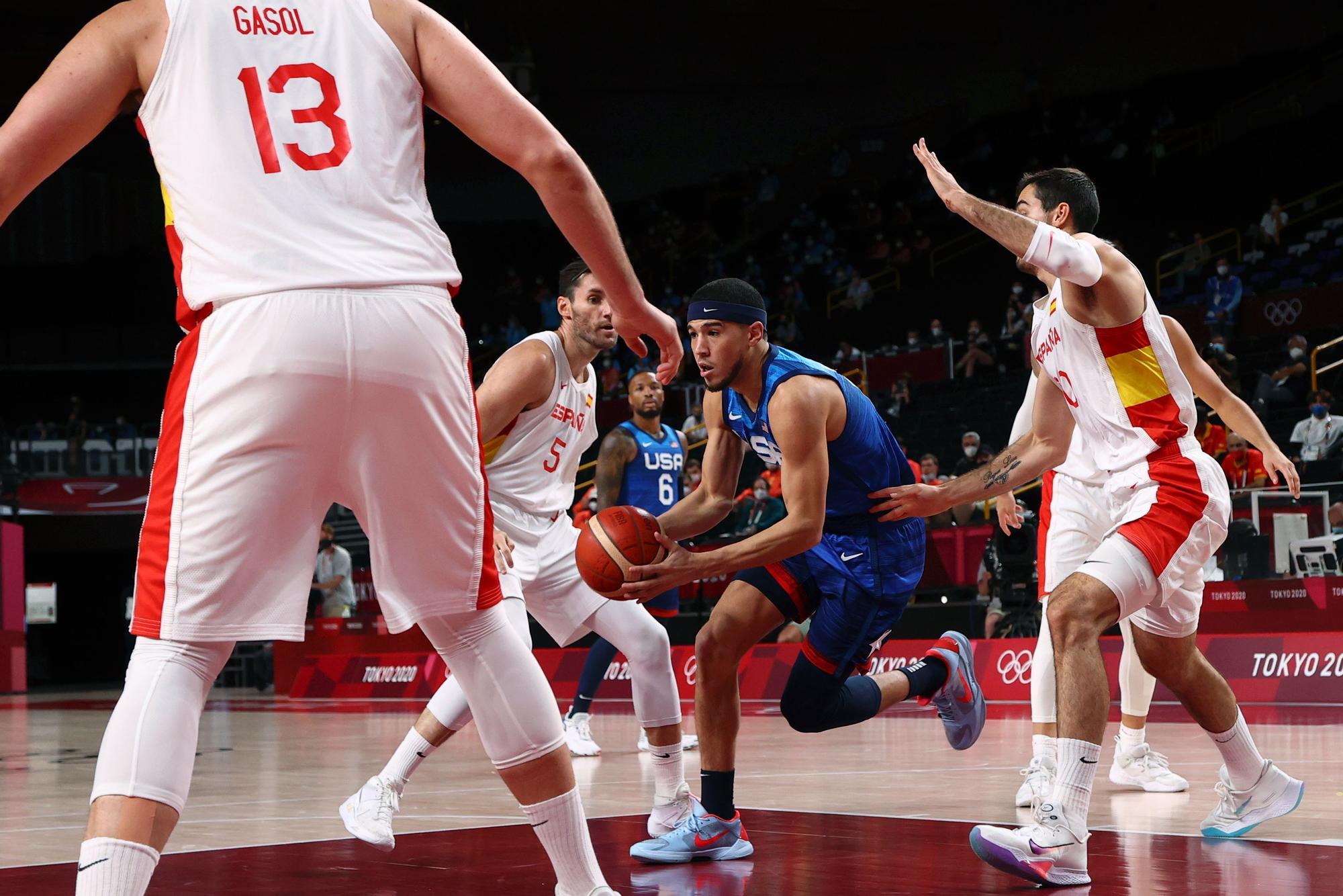 Tokio 2020, baloncesto masculino: España - EEUU