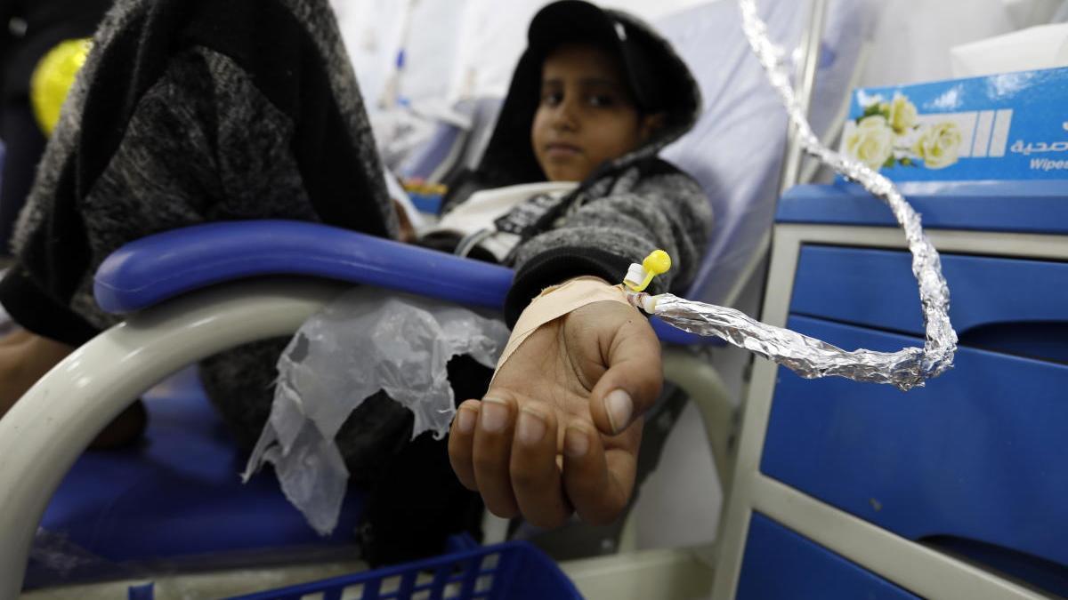 Una paciente yemení lucha contra el cáncer