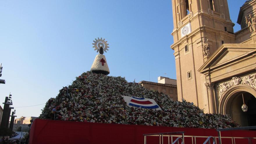 El ayuntamiento estudia un sorteo para pequeños grupos de participantes individuales en la Ofrenda del Pilar