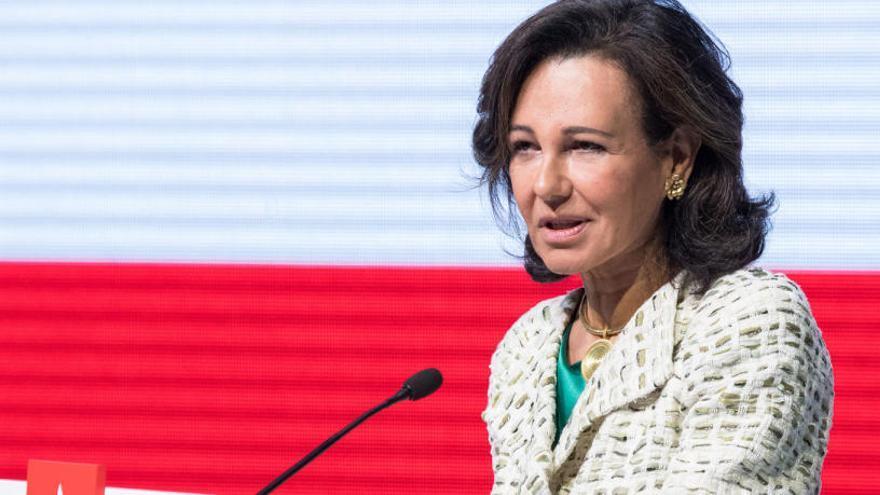 El Banc Santander guanya 7.810 milions d'euros el 2018