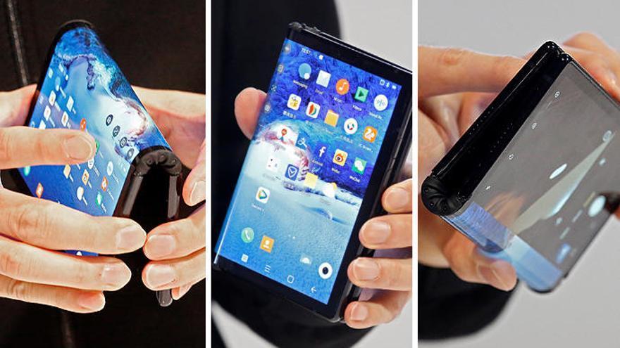 Así es el primer 'smartphone' con pantalla plegable